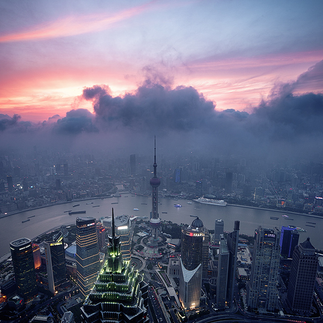 Cityscapes by Jens Fersterra - Shanghai