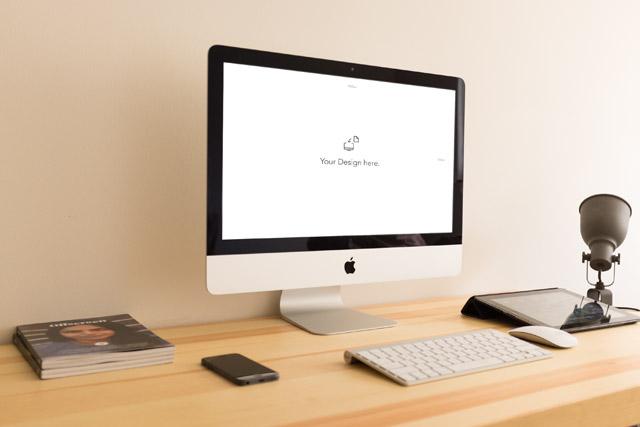 iMac Mockup by Alex Byrne